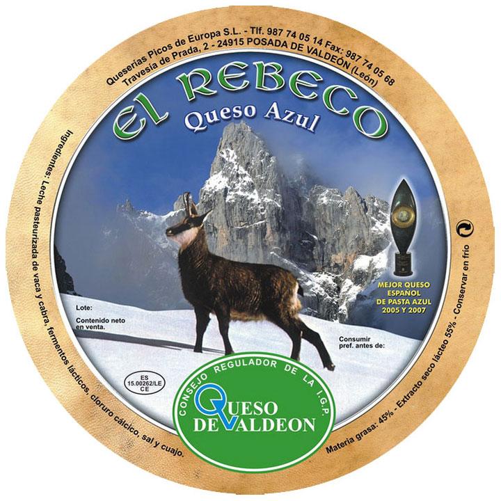 Queso azul de Valdeón Picos de Europa 3